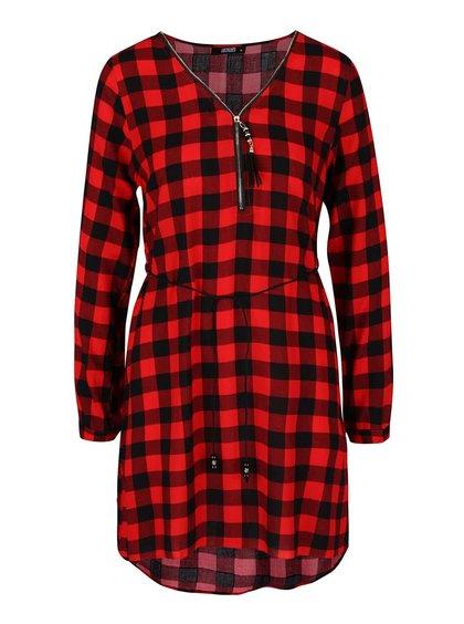 Černo-červené kostkované šaty Haily´s Cathrine