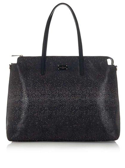 Černá vzorovaná kabelka Paul's Boutique Gaby