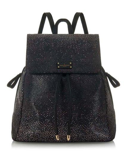 Černý vzorovaný batoh s Paul's Boutique Celine