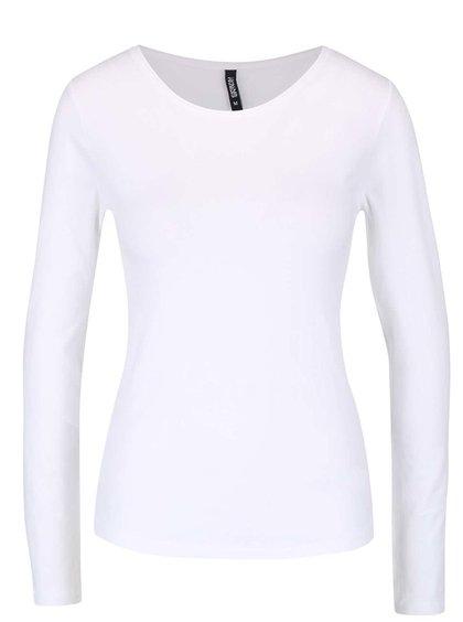 Bílé tričko s dlouhým rukávem Haily´s Tina
