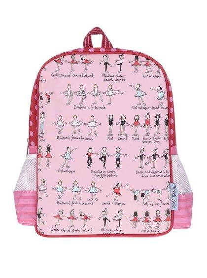Růžový holčičí batoh Tyrrell Katz Ballet