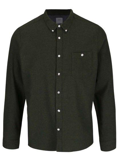 Kaki košeľa Burton Menswear London
