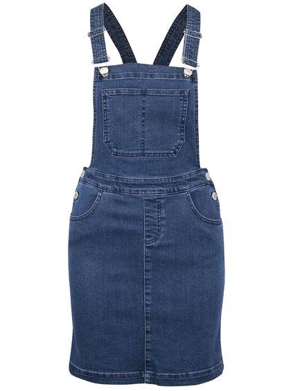 Modré džínové šaty s laclem Miss Selfridge
