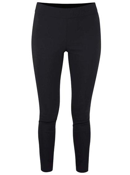 Černé skinny kalhoty s gumou v pase Miss Selfridge