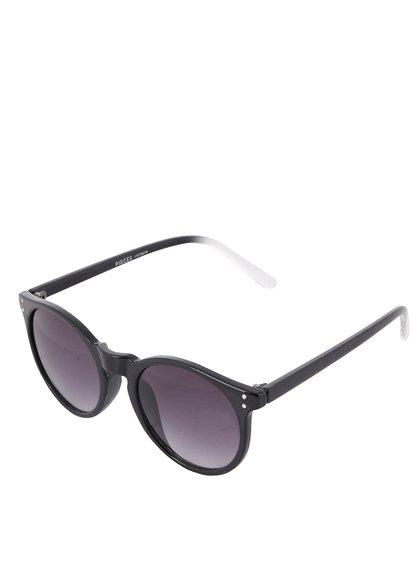 Čierne slnečné okuliare Pieces Pannu