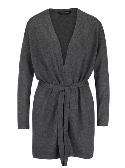 Cardigan gri Dorothy Perkins lung