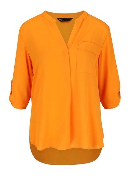 Cămașă tip tunică portocalie Dorothy Perkins