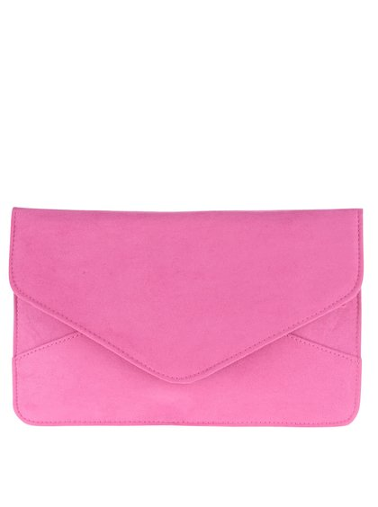 Geantă plic roz Dorothy Perkins