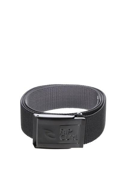 Černý pánský pásek Rip Curl Ripper Revo Webbed Belt