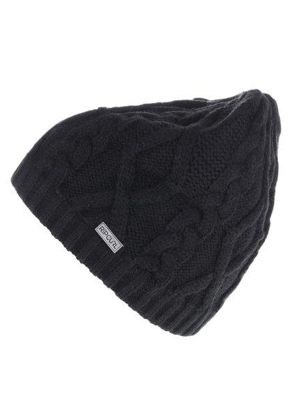 Čierna pánska pletená čiapka Rip Curl The Ledgend Beanie