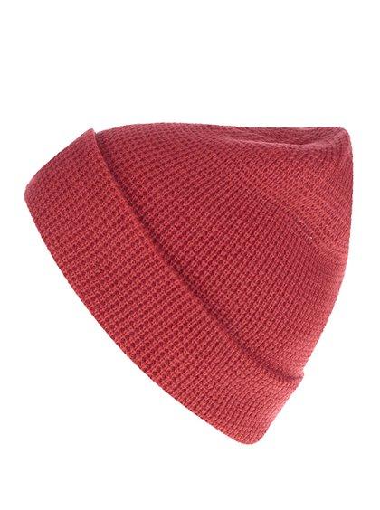 Căciulă roșie Rip Curl Rubber Soul Beanie