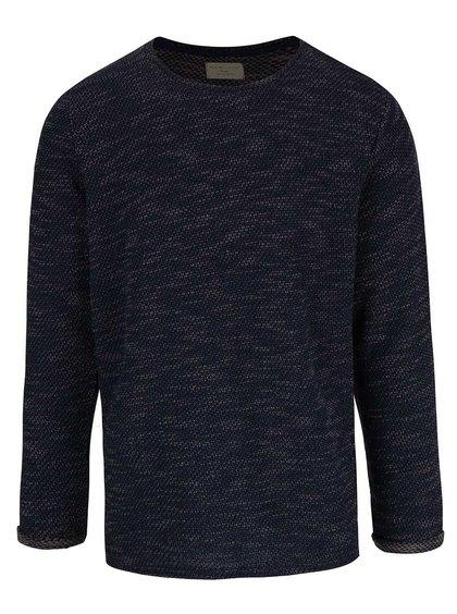 Zeleno-modrý melírovaný sveter Selected Homme Julius