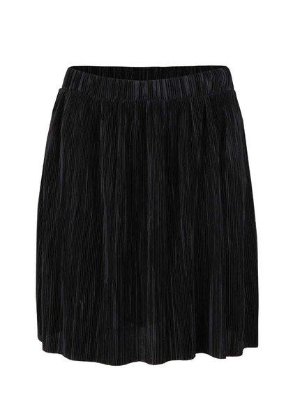 Černá plisovaná sukně VILA Claudie