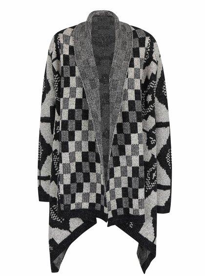 Šedo-černý dámský vzorovaný cardigan Rip Curl Empire