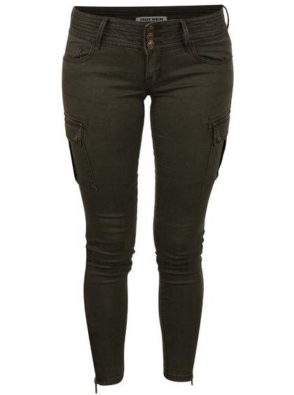 Pantaloni kaki TALLY WEiJL skinny