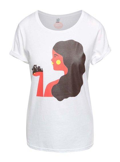"""""""Dobré"""" biele dámske tričko pre Zažít město jinak"""