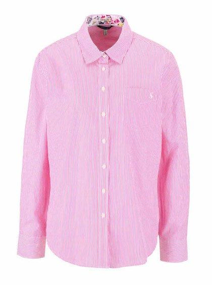 Cămașă roz Tom Joule Lucei cu model în dungi