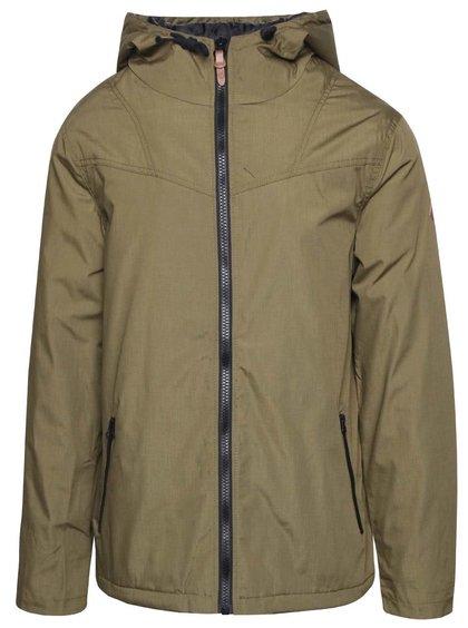 Khaki bunda s kapucí !Solid Dabney