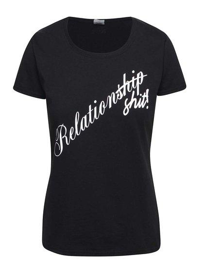 Čierne dámske tričko ZOOT Originál Relationship