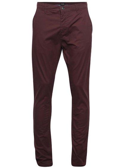 Pantaloni chino vișinii !Solid Joy Crisp