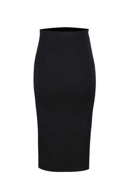 Černá nabíraná těhotenská sukně Dorothy Perkins Maternity