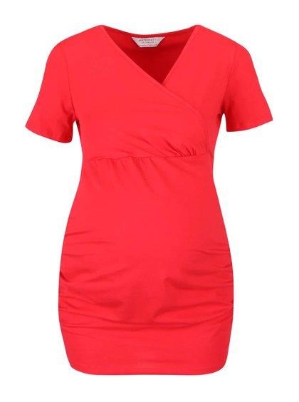 Tricou roșu Dorothy Perkins Maternity