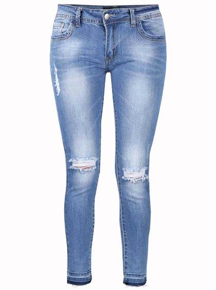 Modré osminkové džíny Haily´s Sofia