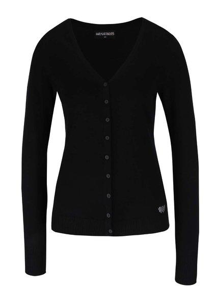 Černý propínací svetr Haily´s Chloe