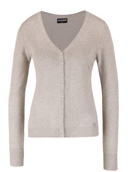 Béžový propínací svetr Haily´s Chloe