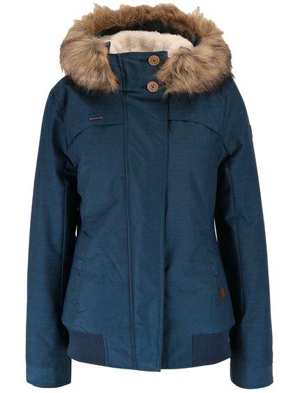 Jachetă albastru petrol Ragwear Wooki