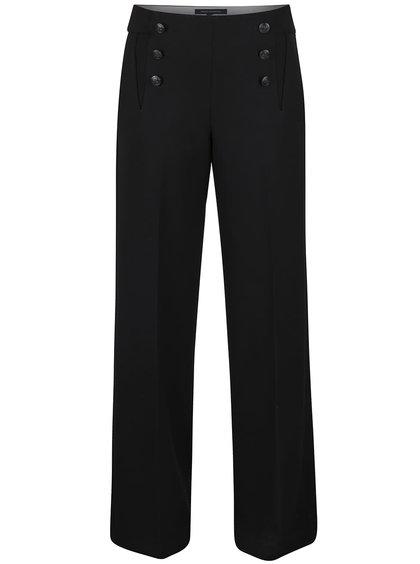 Černé culottes kalhoty French Connection Cora