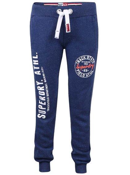 Pantaloni sport albaștri Superdry