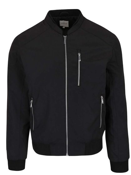 Čierny bomber Jack & Jones Logan