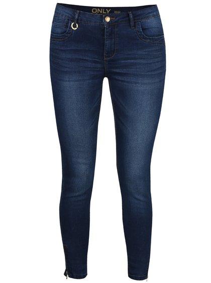 Tmavě modré džíny ONLY Kendell