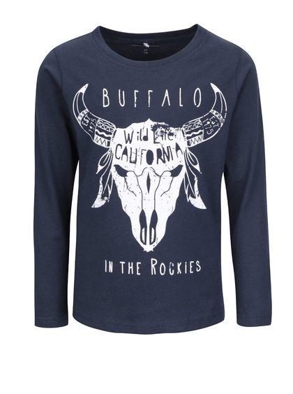 Bluză cu imprimeu name it Nitvictor albastră