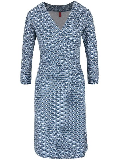 Rochie albastră cu imprimeu Tranquillo Jamala