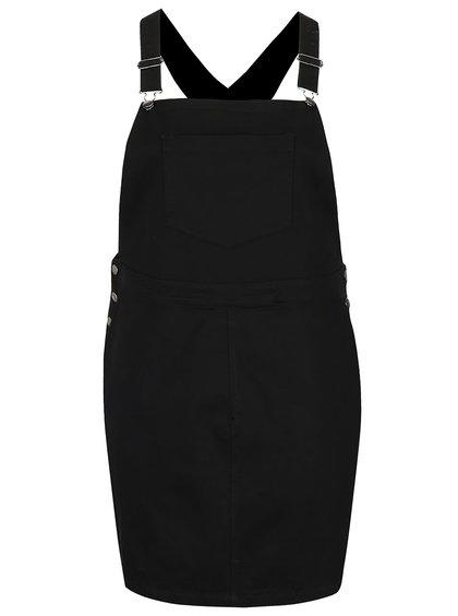 Čierne šaty s trakmi Dorothy Perkins Curve