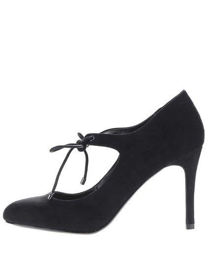 Pantofi cu toc Dorothy Perkins negri