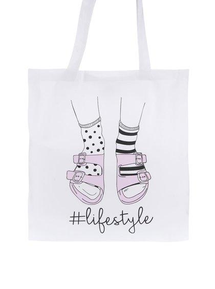 Bílá plátěná taška ZOOT Original Lifestyle