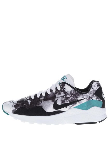 Čierno-biele pánske vzorované tenisky Nike Air Zoom Pegasus