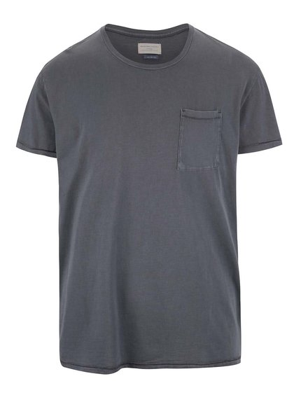 Tricou gri Selected Homme Tristan