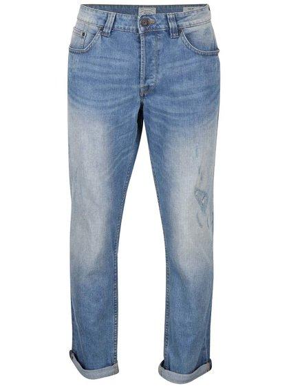 Světle modré džíny s potrhaným efektem ONLY & SONS Weft