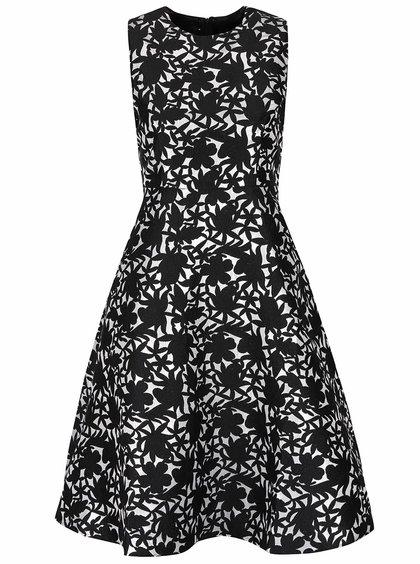 Černo-bílé vzorované šaty AX Paris