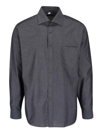 Tmavě šedá formální košile Seven Seas