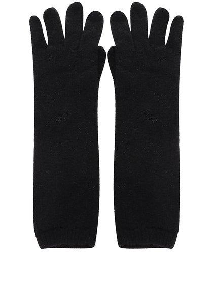 Černé dlouhé rukavice ONLY Sally