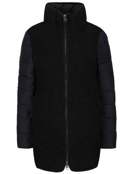 Čierny kabát ICHI Tazzi