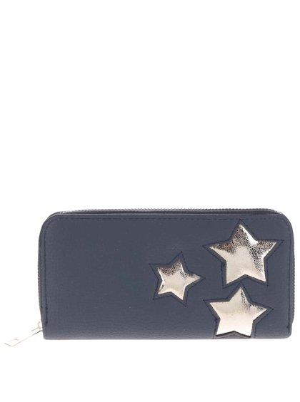 Portofel Haily's Stella albastru cu aplicații