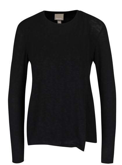 Černé překládané dámské tričko Bench Enunciation