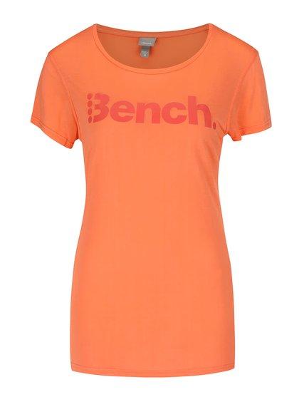 Tricou portocaliu Bench Expate cu print pentru femei