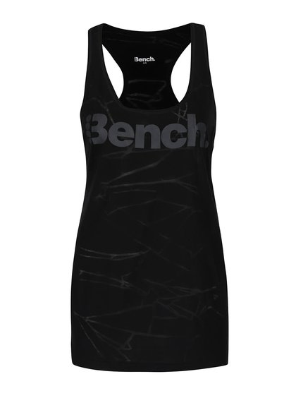 Maiou negru Bench Dado cu model discret pentru femei